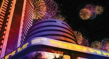 stock markets festive